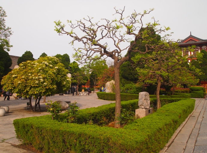 Gardens at Huaqing Hot Springs