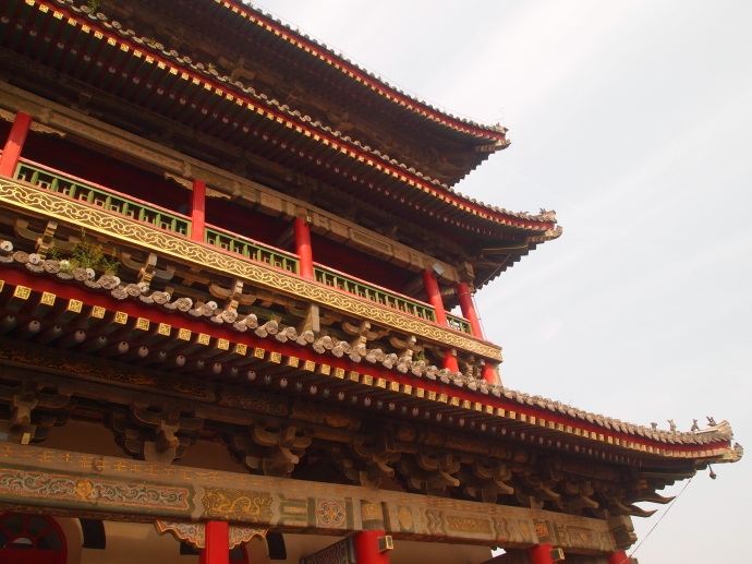 Eaves of the Drum Tower