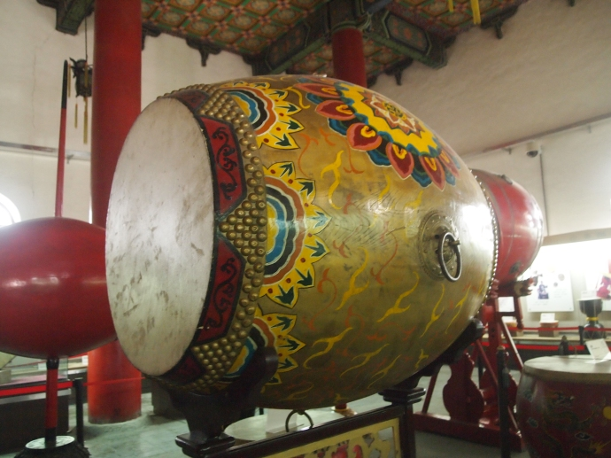 painted drum