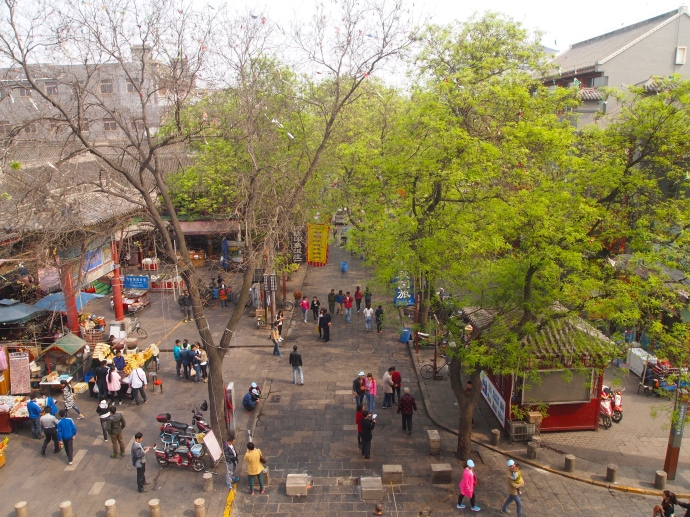 View of Beiyuanmen in the Muslim Quarter