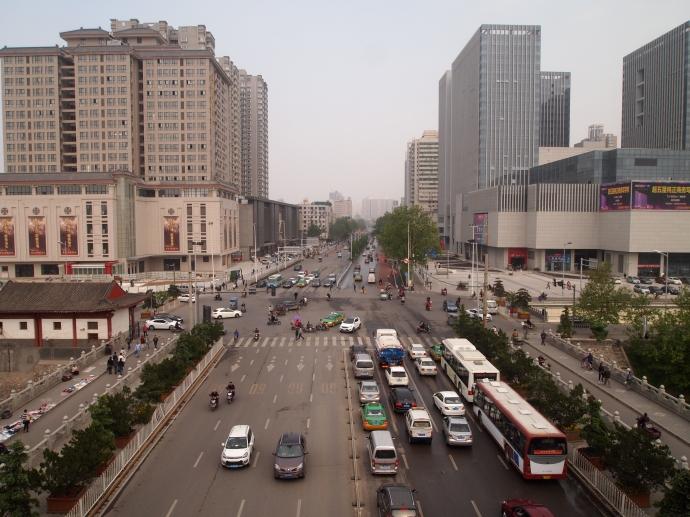 Traffic under Changlemen