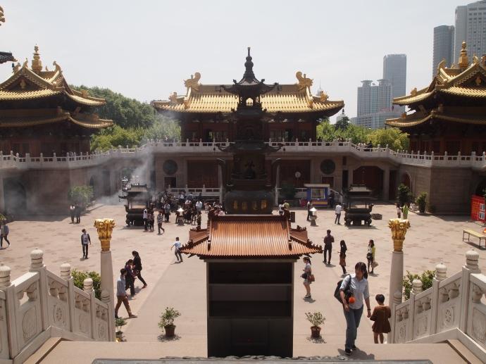 Jing'an Si in Shanghai