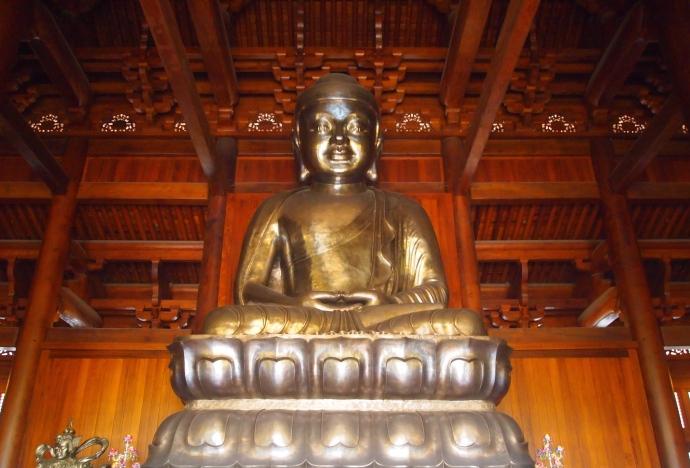Buddha at Jing'an Si