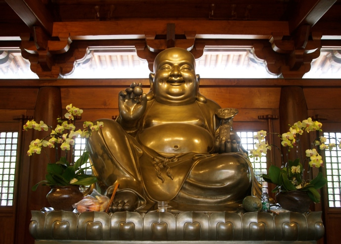 Laughing Buddha at Jing'an Si