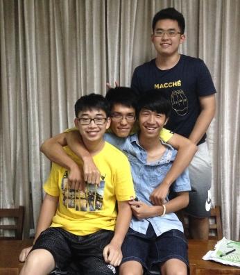 Jim, Jack, Stone and Leo