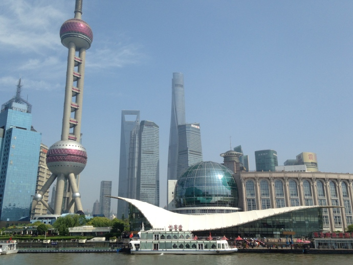 Oriental Pearl Tower & Shanghai International Convention Center