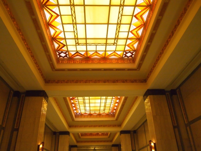 Art Deco glass ceilings