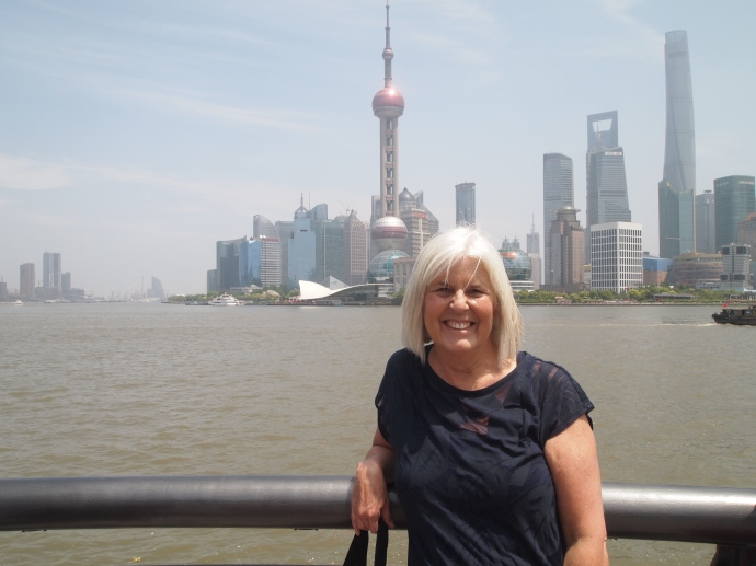 Me with Pudong in the background