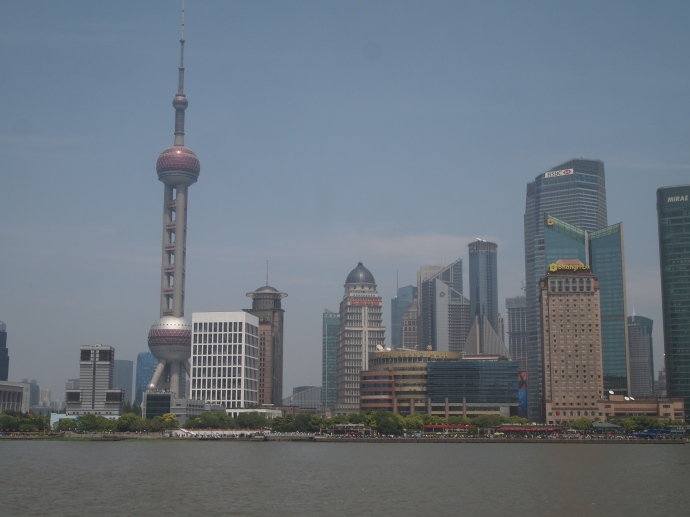View of Pudong from the Bund