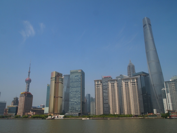 the new Pudong