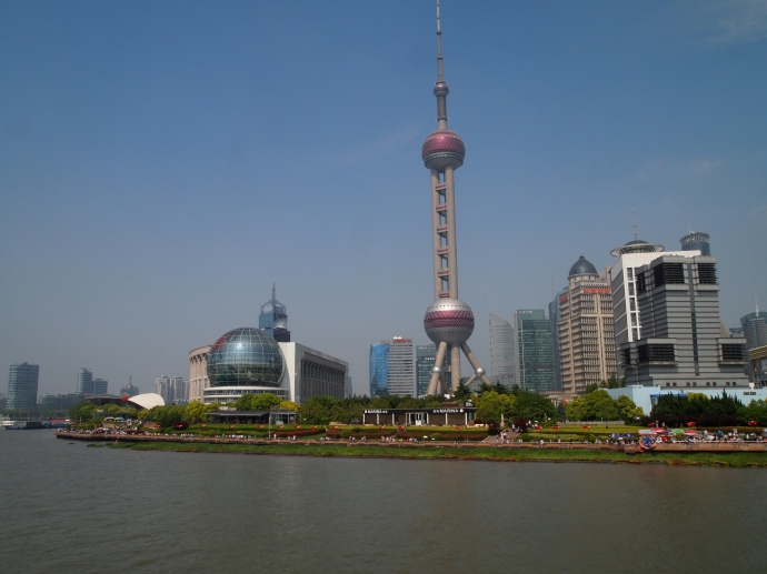 Pudong from the river