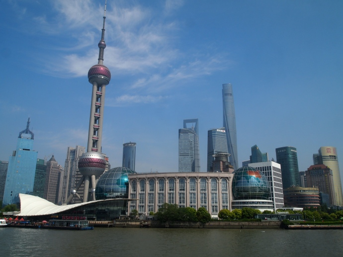 Shanghai International Convention Center & Oriental Pearl Tower