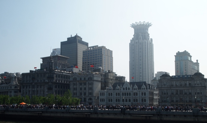 Colonial buildings along the Bund