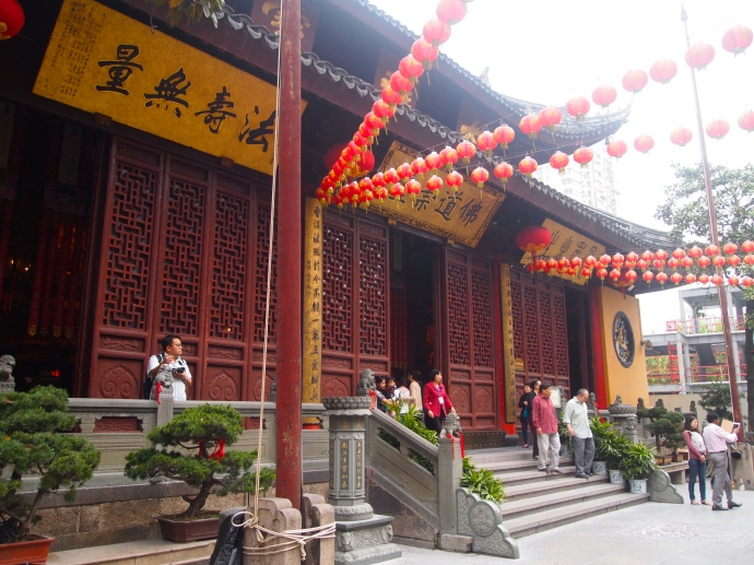 Yufo Si, the Jade Buddha Temple