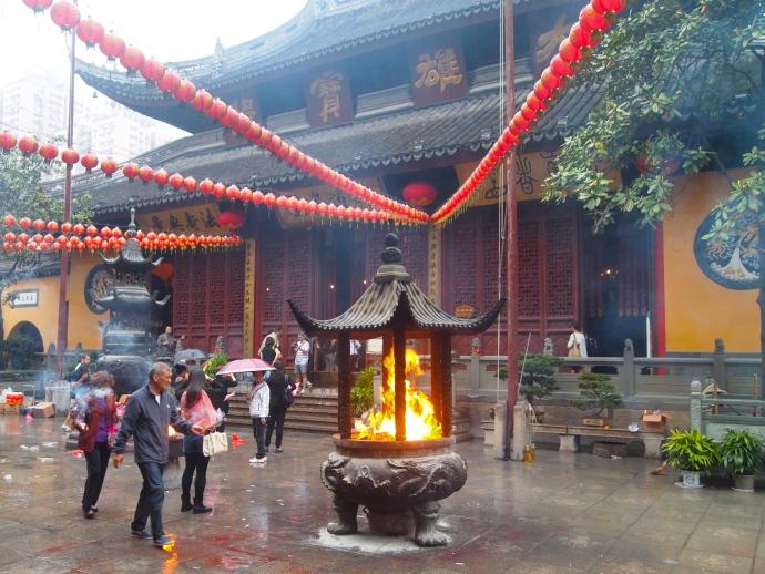 Yufo Si, the Jade Buddha Temple
