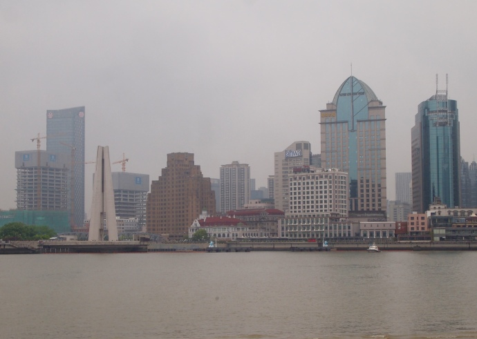 The Bund across the Huangpu River