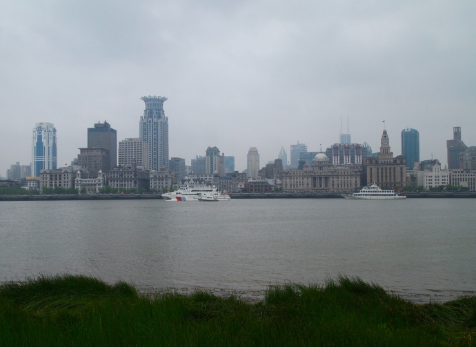 The Bund as seen from Pudong