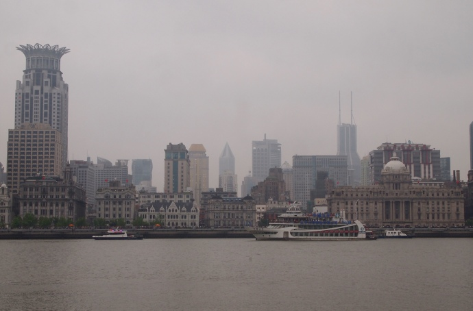 A cloudy day on the Bund