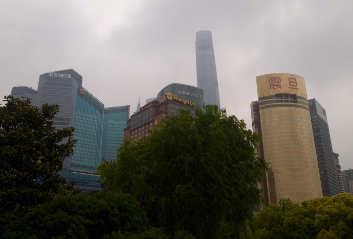 Pudong and the Shangri-La