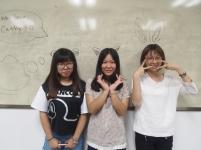 Yuki, Eva and Vanessa