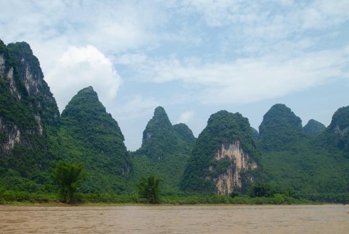 Li River karst scenery