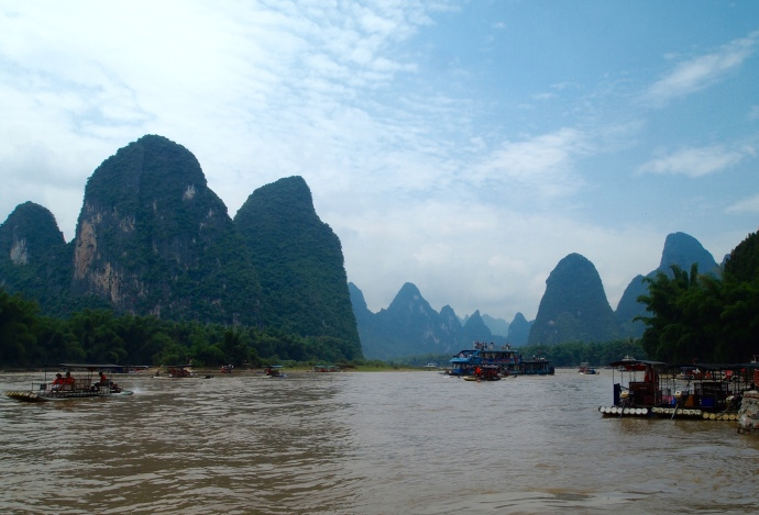 The Li River at Xingping