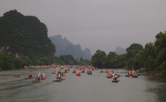 the Yulong River from Dragon Bridge