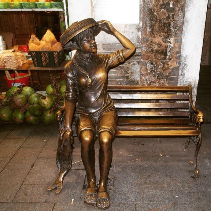 another bronze sculpture