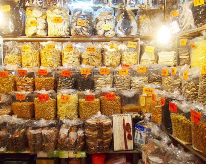 schools of dried fish