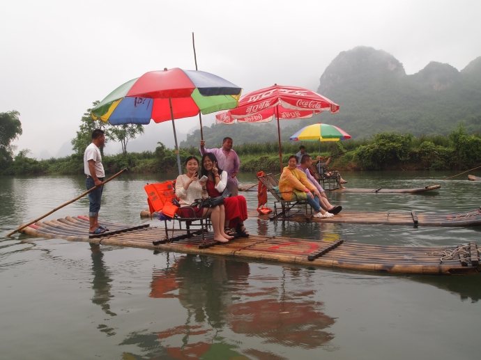 the bamboo boats
