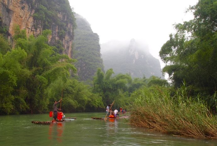 Yulong River scenes