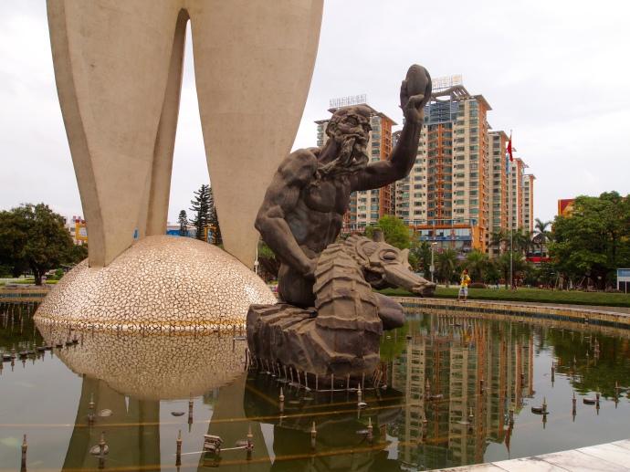 Neptune at Beibuwan Square