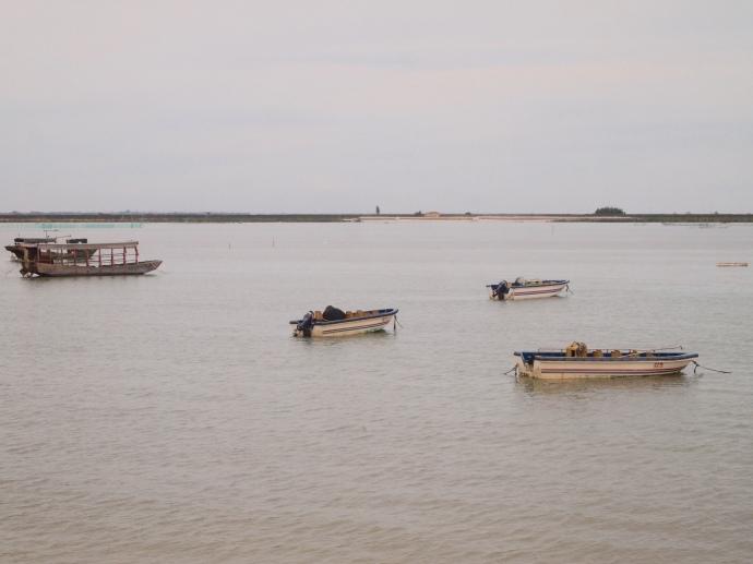 boats at bay