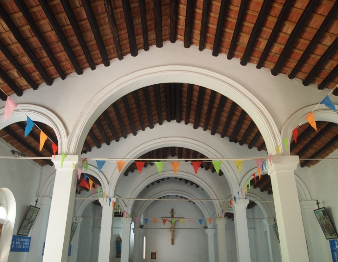 Interior of Saint Maria Church
