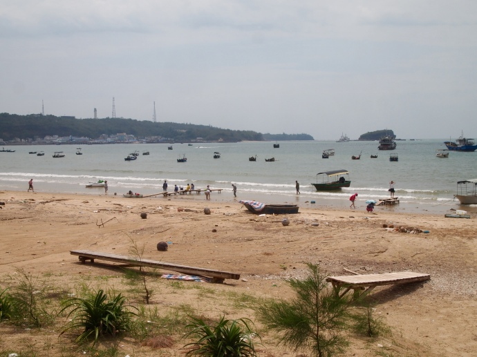 the beach near Crocodile Hill