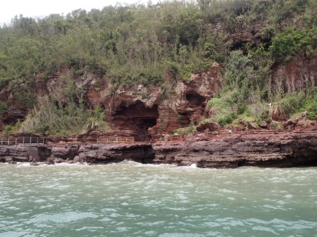 lava cliffs at Crocodile Hill