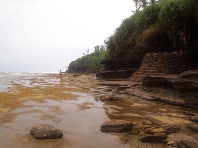 Multicolored/Colorful Beach on Weizhou Island