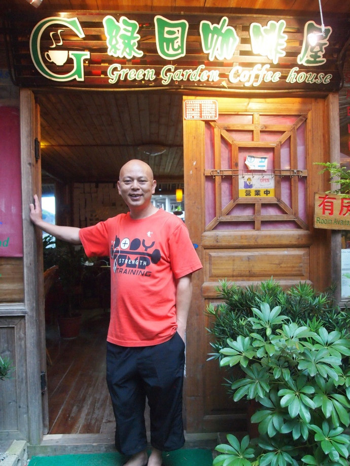 owner of the Green Garden